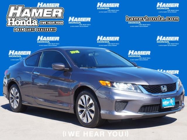 Pre-Owned 2015 Honda Accord Coupe LX-S