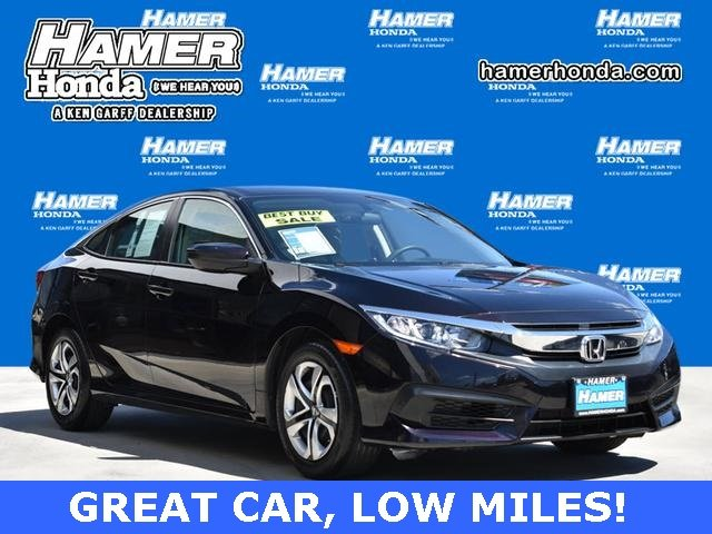Pre Owned 2017 Honda Civic Sedan Lx