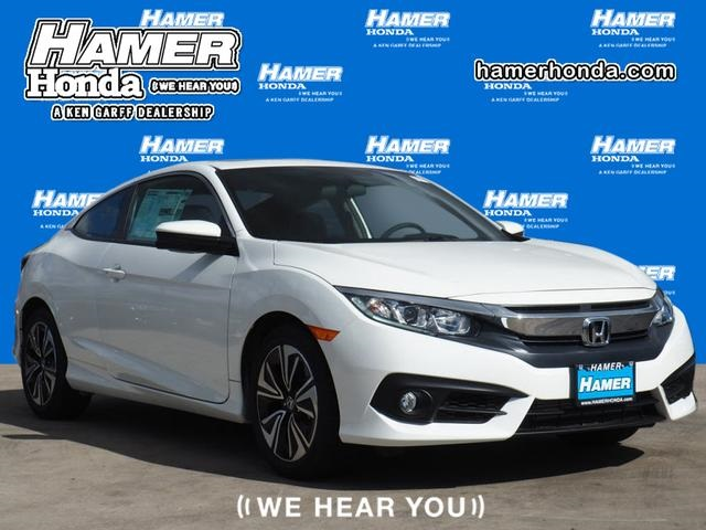 New 2018 Honda Civic EX T 2D Coupe in Reseda H