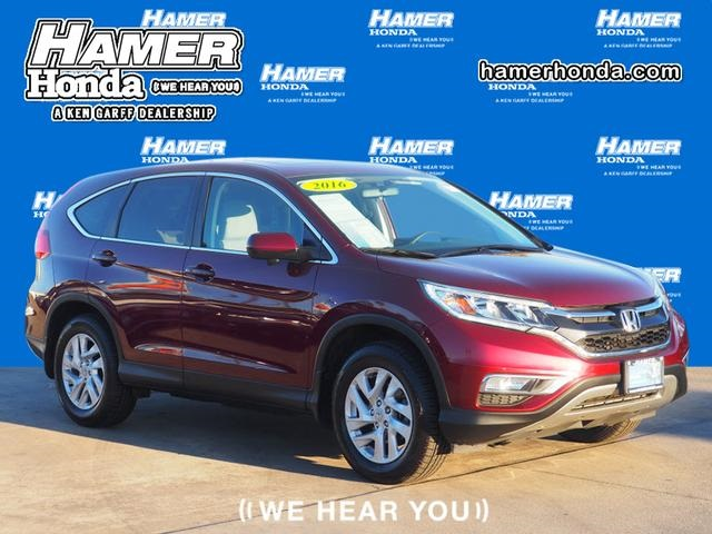 Lovely Certified Pre Owned 2016 Honda CR V EX