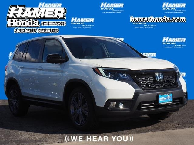 New 2019 Honda Passport Ex L Sport Utility In Reseda B000238