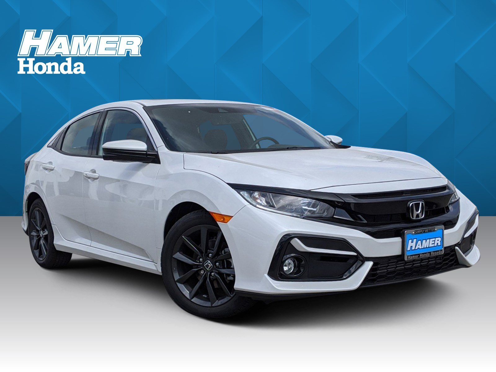 New 2020 Honda Civic Hatchback EX-L
