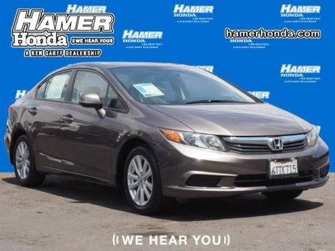 Pre-Owned 2012 Honda Civic Sdn EX-L