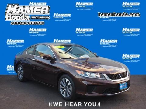 Certified Pre-Owned 2015 Honda Accord Coupe LX-S