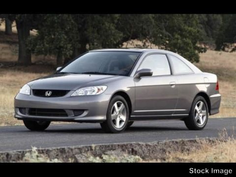 Pre-Owned 2005 Honda Civic Cpe LX SSRS
